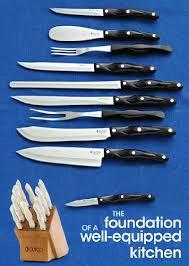 cutco kitchen knives cutco knife block
