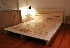 platform bed frames plans home design ideas