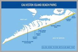 map of galveston galveston island parks