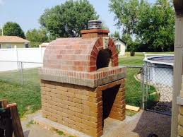 Diy Backyard Pizza Oven by Brickwood Ovens Martens Wood Fired Outdoor Pizza Oven In Michigan