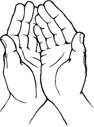 hands heart coloring pages place color