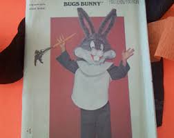 bugs bunny costume etsy
