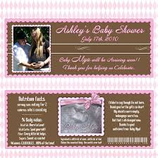 custom made baby shower invitations template best template