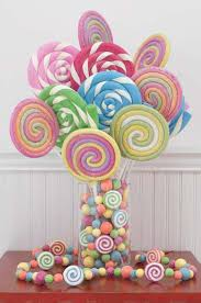 Candy Vases Centerpieces Party Frosting Candy Party Ideas Inspiration