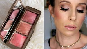 hourglass ambient strobe lighting blush palette new hourglass ambient strobe lighting blush review swatches