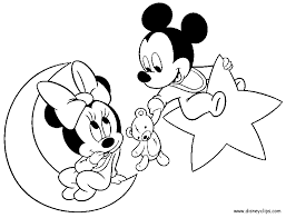baby mickey mouse coloring pages coloring