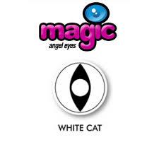 white cat rx prescription halloween contact lenses