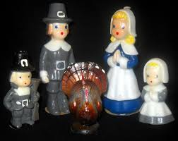 pilgrim candles thanksgiving vintage gurley thanksgiving candle set turkey woman and