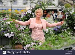 picture shows carol klein gardening expert and tv presenter on