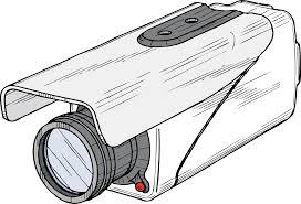 clipart surveillance camera