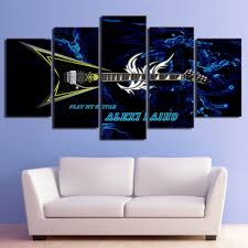 modern painting frame art poster wall picture 5 panel music