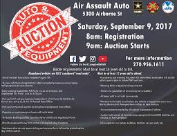 pay to bid auction abandoned vehicle and mwr equipment open bid auction set for