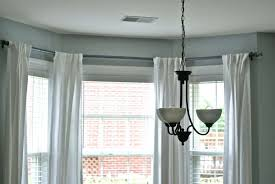 everlasting bay window curtain rods u2014 castro home and garden