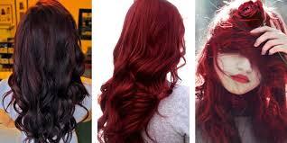 rich cherry hair colour most popular red hair color shades matrix
