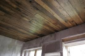 Unfinished Basement Ceiling by A Rustic Barn Board Ceiling For The Cottage Basements Ceiling