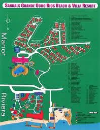 Map Of Kingston Jamaica Sandals Ochi Beach Resort U2013 Ocho Rios Transat