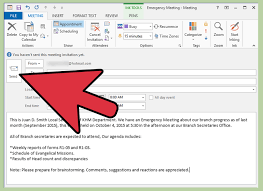 how to write an email for a meeting invitation 12 steps