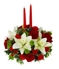 christmas flowers christmas floral centerpiece at from you flowers