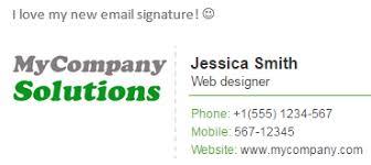professional email signature examples tips u0026 free html signature