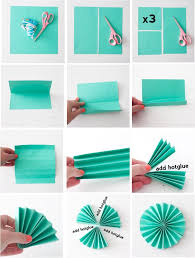 over the past few days i have had a lot of questions on how i made all those paper fans from our studio inspiration photo shoot here is a mini diy that