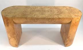 burl wood console table burl wood console table for sale at 1stdibs