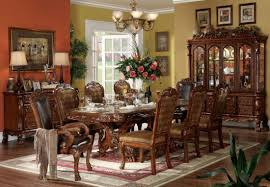 dining table length inspirations and 10 person room trend is also dresden dining table cherry by acme pictures and 10 person room images b ae image