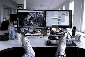 how does your workspace look like inspiring photography