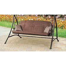 Garden Bench With Cushion Replacement Swing Cushions Garden Winds