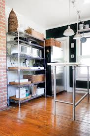 Kitchen Bookcase Ideas by Best 25 Metal Kitchen Shelves Ideas On Pinterest Industrial