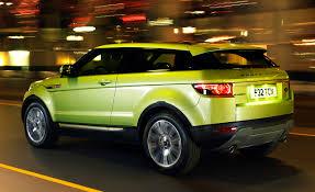 range rover evoque price 2012 range rover evoque to offer plenty of customization options