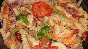 pasta salad with chicken and sausage world u0027s best youtube