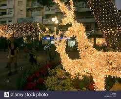illuminated wire frame reindeer christmas lights and decorations