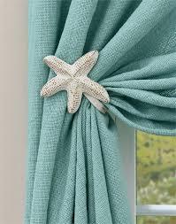 Curtain Tie Backs For Nursery Starfish Curtain