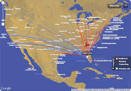 swa route map the best and worst of southwest airlines accounting your points