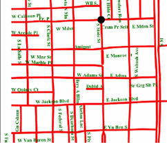 chicago map streets automated svg map labeling for customizable large print maps for