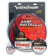 rockford fosgate amp car amplifiers ebay