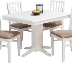 Dining Room Black Pedestal Table Leaf Rectangular For Brilliant - Brilliant white and black dining table property