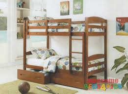 Bravo Single Bunk Bed White Or Antique Oak Awesome Beds  Kids - Single bunk beds