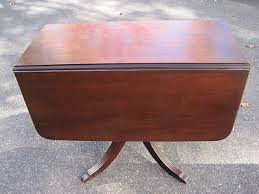 Mahogany Drop Leaf Table Duncan Phyfe Style Mahogany Drop Leaf Table Antique Price Guide
