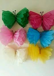 Diy Butterfly Decorations by Resultado De Imagen Para Pompones D Epapel Seda Decoraciones