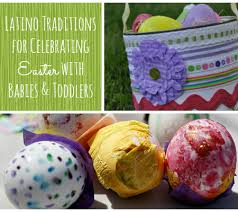 traditions for celebrating easter with babies toddlers