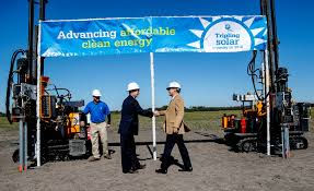 Large Solar Light by Florida Power U0026 Light Breaks Ground On Large Solar Projects