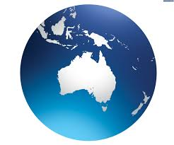 Australia On A World Map by Australia Moving Up In The World Literally The Express Tribune