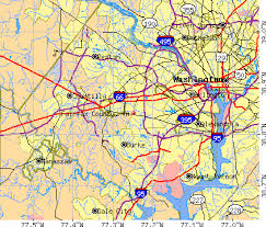 fairfax county map fairfax county virginia detailed profile houses estate
