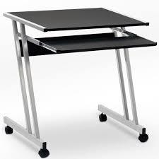 petit bureau informatique pas cher bureau informatique meuble pc ordinateur table tiroir rangement noir