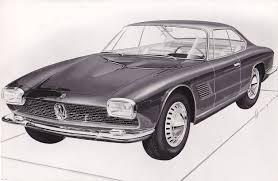 maserati bellagio 1961 maserati 5000 gt coupe bertone studios