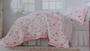 Shabby Chic Twin Quilt by Simply Shabby Chic Pink Floral 2pc Twin Comforter Set 65