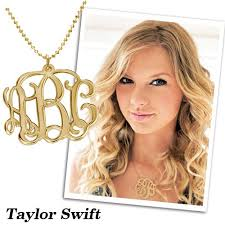 Gold Plated Monogram Necklace 17 Best Celebrities Images On Pinterest Monograms Monogram
