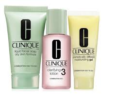 Clinique Skin Care Reviews Amazon Com Clinique 3 Step Travel Size Set For Combination Oily
