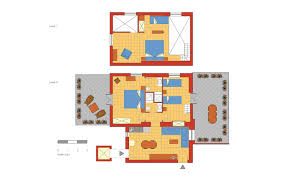 apartment piazza di spagna with terrace rome accommodation floor plan